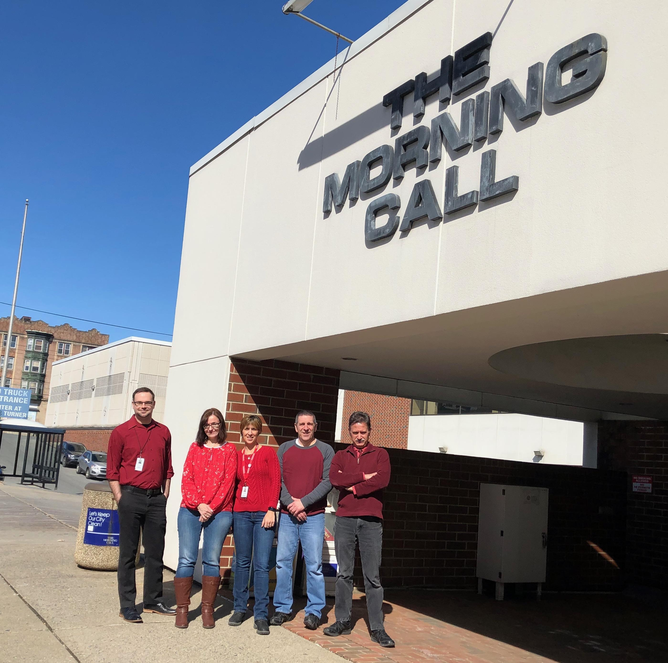 Members of The Morning Call Guild